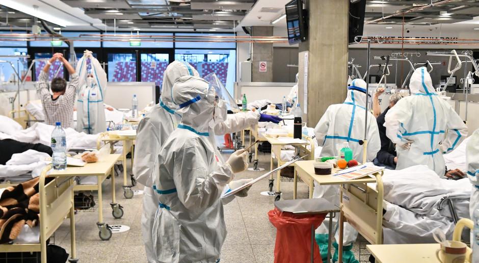 Szpitale tymczasowe w czwartej fali COVID-19. Czy na pewno wiemy jak je dobrze wykorzystać?