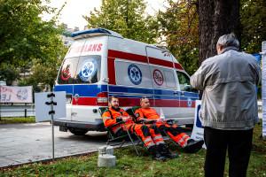 Ministerstwo Zdrowia zaprasza protestujących ratowników na kolejne spotkanie