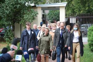 Rozpoczęło się spotkanie protestujących medyków z wiceministrem. Ptok: Nie ma rozczarowania