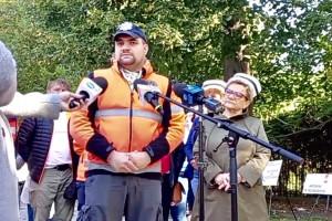 Ratownicy z Białego Miasteczka do ministra: nie ma porozumienia. Protest trwa