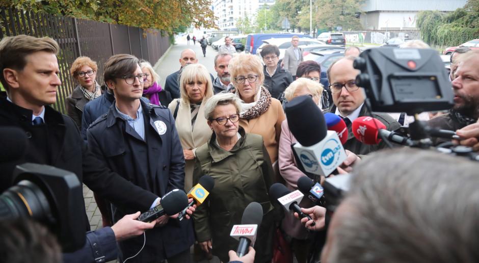Protestujący piszą do wiceministra Brombera i domagają się konkretów. Czekają do niedzieli