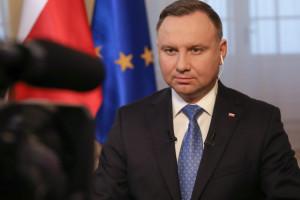 Prezydent Andrzej Duda: im więcej zaszczepionych, tym mniej dotkliwe zachorowania