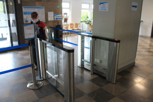 Gorzów Wielkopolski: Zainstalowali bramki sygnalizujące obecność osób z gorączką