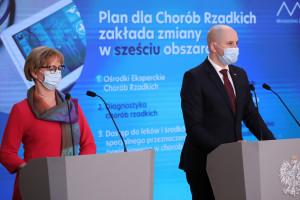 Plan dla Chorób Rzadkich opublikowany w Monitorze Polskim. Wyznacza cele na najbliższe dwa lata LISTA