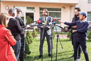 Wiceminister Bromber po spotkaniu z medykami: Jesteśmy blisko porozumienia