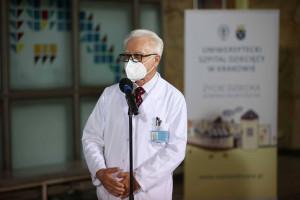 Prof. Fyderek zrezygnował ze stanowiska dyrektora Uniwersyteckiego Szpitala Dziecięcego. Wyjaśnił powody