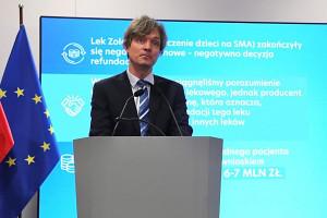 Kacper Ruciński komentuje sprawę leku na SMA za 6-7 mln zł